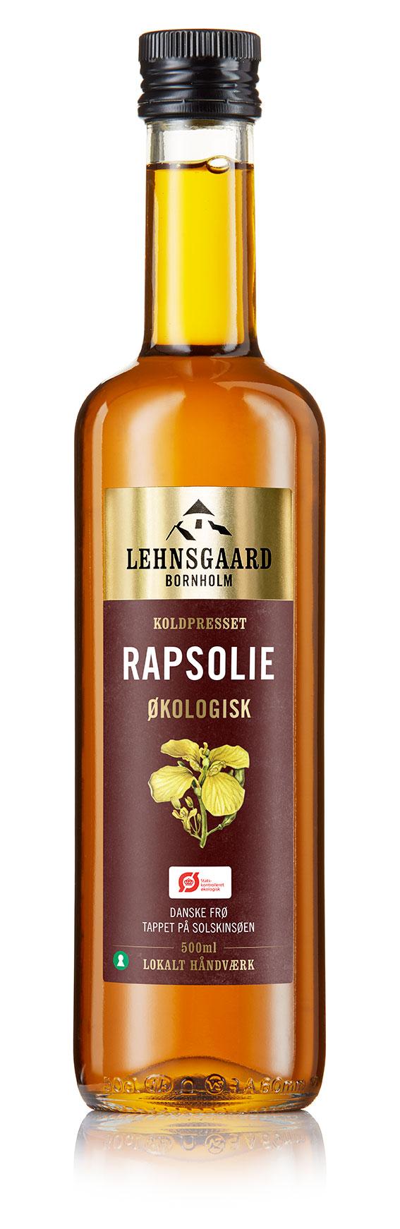 Lehnsgaard | Økologisk Rapsolie